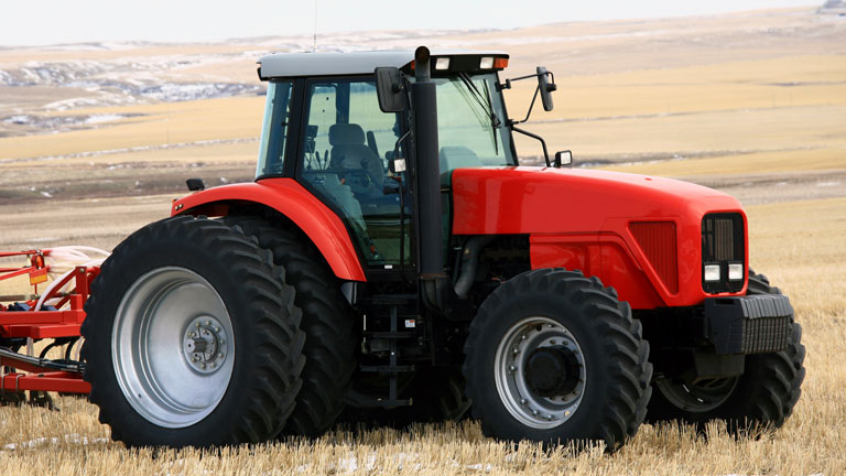 Agricultural machinery with ISOBUS